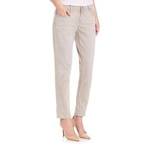 Eileen Fisher Gray Organic Cotton Boyfriend Jeans
